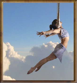 Natalie Agee on Trapeze
